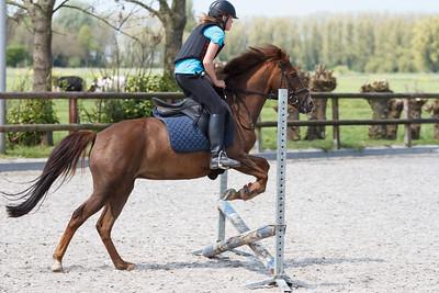 Paardrijden 7 mei