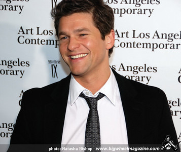 Actor David Burtka arrives at the opening night gala of the 1st Annual Art Los Angeles Contemporary held at the Pacific Design Center on January 28, 2010 in Los Angeles, California.