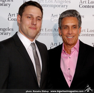 ALAC director Tim Fleming and developer Charles Cohen arrive at the opening night gala of the 1st Annual Art Los Angeles Contemporary held at the Pacific Design Center on January 28, 2010 in Los Angeles, California.