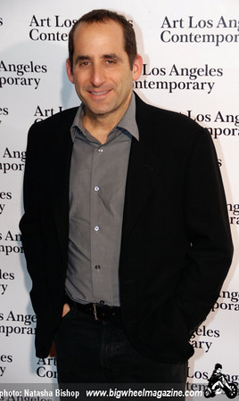 Actor Peter Jacobson arrives at the opening night gala of the 1st Annual Art Los Angeles Contemporary held at the Pacific Design Center on January 28, 2010 in Los Angeles, California.