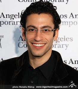 Actor Adam Tsekhman arrives at the opening night gala of the 1st Annual Art Los Angeles Contemporary held at the Pacific Design Center on January 28, 2010 in Los Angeles, California.