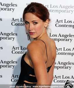 Actress Vail Bloom arrives at the opening night gala of the 1st Annual Art Los Angeles Contemporary held at the Pacific Design Center on January 28, 2010 in Los Angeles, California.
