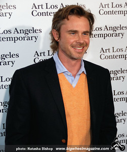 Actor Sam Trammell arrives at the opening night gala of the 1st Annual Art Los Angeles Contemporary held at the Pacific Design Center on January 28, 2010 in Los Angeles, California.