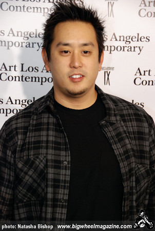 Musician Joe Hahn arrives at the opening night gala of the 1st Annual Art Los Angeles Contemporary held at the Pacific Design Center on January 28, 2010 in Los Angeles, California.