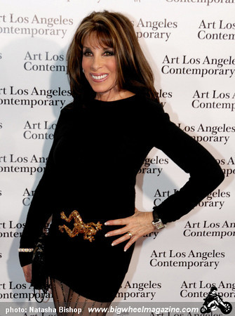 Actress Kate Linder arrives at the opening night gala of the 1st Annual Art Los Angeles Contemporary held at the Pacific Design Center on January 28, 2010 in Los Angeles, California.