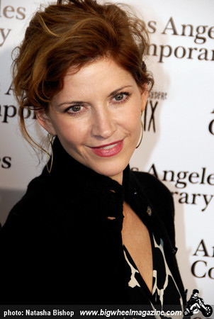 Actress Melinda McGraw arrives at the opening night gala of the 1st Annual Art Los Angeles Contemporary held at the Pacific Design Center on January 28, 2010 in Los Angeles, California.