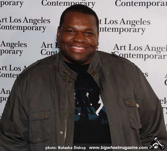 Actor Kelvin Brown arrives at the opening night gala of the 1st Annual Art Los Angeles Contemporary held at the Pacific Design Center on January 28, 2010 in Los Angeles, California.