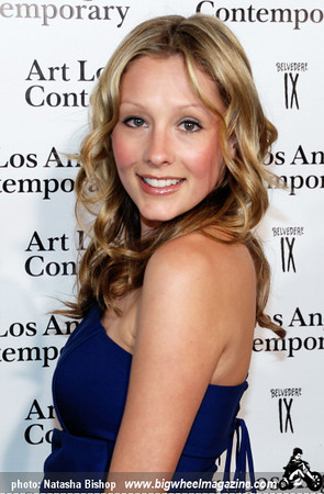 Actress Deja Kreutzberg arrives at the opening night gala of the 1st Annual Art Los Angeles Contemporary held at the Pacific Design Center on January 28, 2010 in Los Angeles, California.