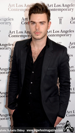 Actor David Bygrave arrives at the opening night gala of the 1st Annual Art Los Angeles Contemporary held at the Pacific Design Center on January 28, 2010 in Los Angeles, California.