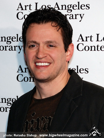 Actor Tom Malloy arrives at the opening night gala of the 1st Annual Art Los Angeles Contemporary held at the Pacific Design Center on January 28, 2010 in Los Angeles, California.