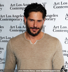 Actor Joe Manganiello arrives at the opening night gala of the 1st Annual Art Los Angeles Contemporary held at the Pacific Design Center on January 28, 2010 in Los Angeles, California.