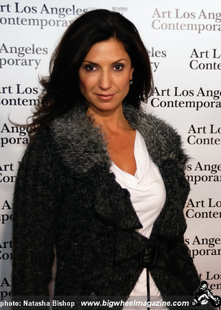 TV personality Nicole Sherwin arrives at the opening night gala of the 1st Annual Art Los Angeles Contemporary held at the Pacific Design Center on January 28, 2010 in Los Angeles, California.
