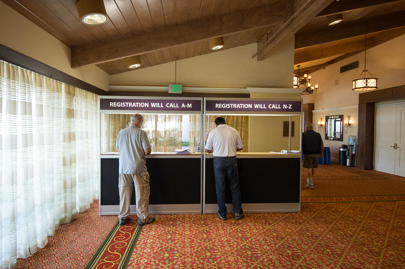 Pre-Registration Desk