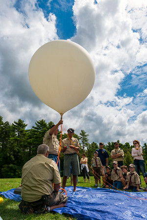 Pack 51 Weather Balloon Launch August 2014