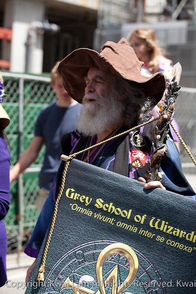 Oberon Zell at Pagan Pride 2010