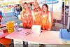 Brandie Nunn, Kimberly Bercegeay and Shani Jones working the bikini contest at the Dupont Hooters. April 13, 2013.