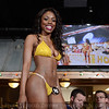 Jelicia Thomas was a contestant in the Hooter's Bikini Contest at the Jeffersonville, IN riverfront restaurant Friday night. May 17, 2014.