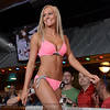 Kaci Casper was a contestant in the Hooter's Bikini Contest at the Jeffersonville, IN riverfront restaurant Friday night. May 17, 2014.