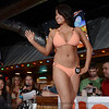 Hillary Boeger was a contestant in the Hooter's Bikini Contest at the Jeffersonville, IN riverfront restaurant Friday night. May 17, 2014.