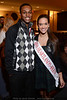 Devonte Jones and Miss Heartland Outstanding Teen Kyle Hornback.
