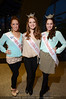 Miss Heartland Ashley Ferry, Miss Central Kentucky Outstanding Teen Bailey Wharton and Miss Commonwealth Claire Butler.