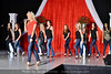 Olivia Henken and pageant contestants do a dance number to start the show.