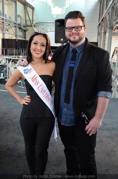 Miss University of Louisville 2013 Amelia Gandara and Clay Cook.