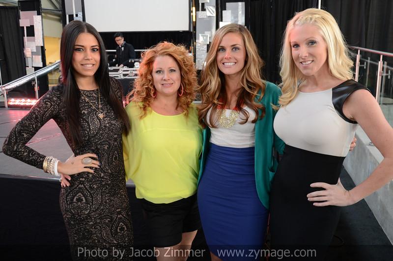 Iris Hernandez, Dena Wethington, Jenna Zutt and Lindsay Ramser.