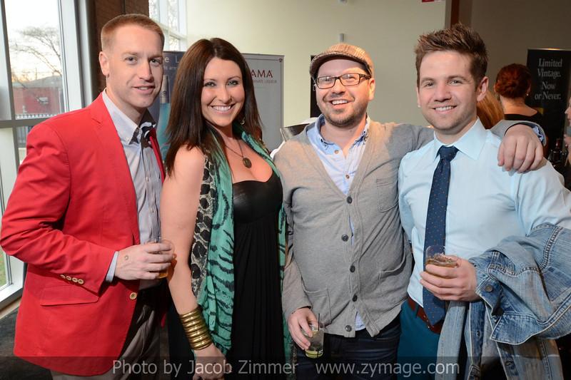 Matt Reel, Rachel Pugh, Daniel Cole and Yancy Holbrook.