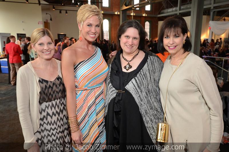 Susan Julien, Shannon Voss, Annette Skaggs and Cheryl Franck.