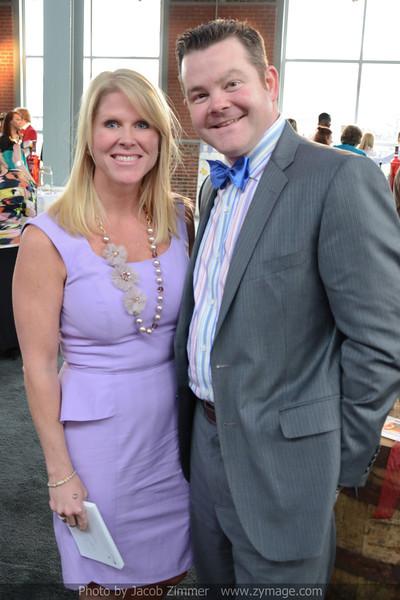 Sarah Mitchell and Robby David.