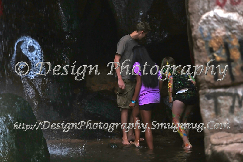 Paint War, Rainbow Falls, Manitou Springs, Colorado