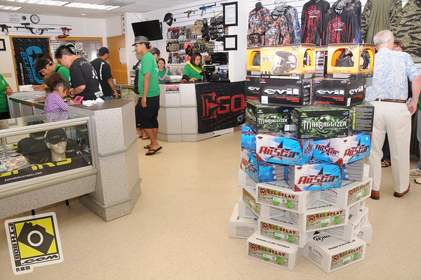 Paintball Hawaii's Store Grand Opening