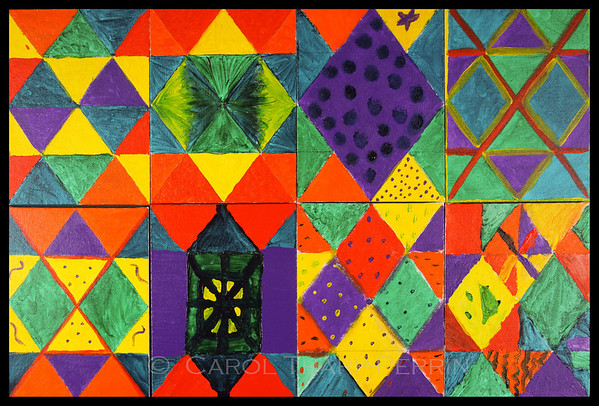 Painted Quilts