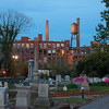 Fulton Cotton Mill Lofts as seen from Oakland cemetery