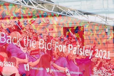 Paisley 2021 Uk City of Culture Bid Send Off