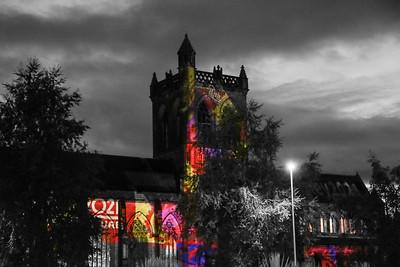 Paisley Christmas Lights Switch On 2016