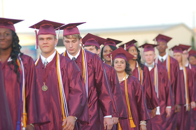 Palestine High School Graduation 2014