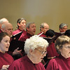Members of the Chancel Choir of St. John's, Oakland, perform Mozart's Requiem under the direction of Ernest Fredric Knell