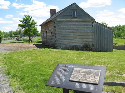 Joseph Smith Sr's log house