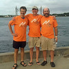 Marty, Rich and yours truly sporting Living Proof T-shirts