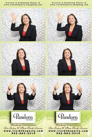 Pandora On Green Vendor Showcase/Food Tasting - Photo Booth Pictures