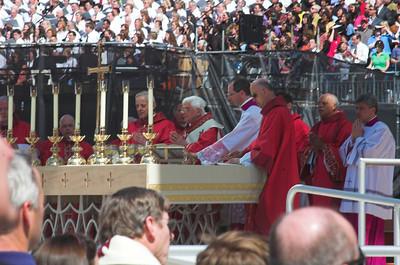 Papal Mass 2008 (House photos)