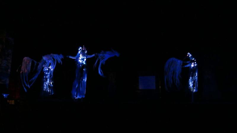 20150904 (2035) 'A Drop in the Bucket' - lit dancers in 'In Between'
