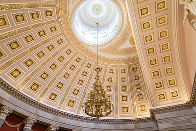 National Statuary Hall ceiling