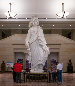 Statue of Freedom, plaster model