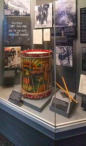 Drum used at JFK's funeral