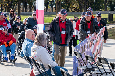 Veterans begin to gather