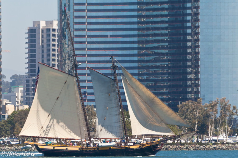 Tall Ships in San Diego Harbor