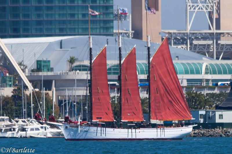 Tall Ship Parade San Diego